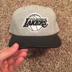 Mitchell and Ness Lakers SnapBack